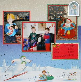 christmas scrapbooking ideas